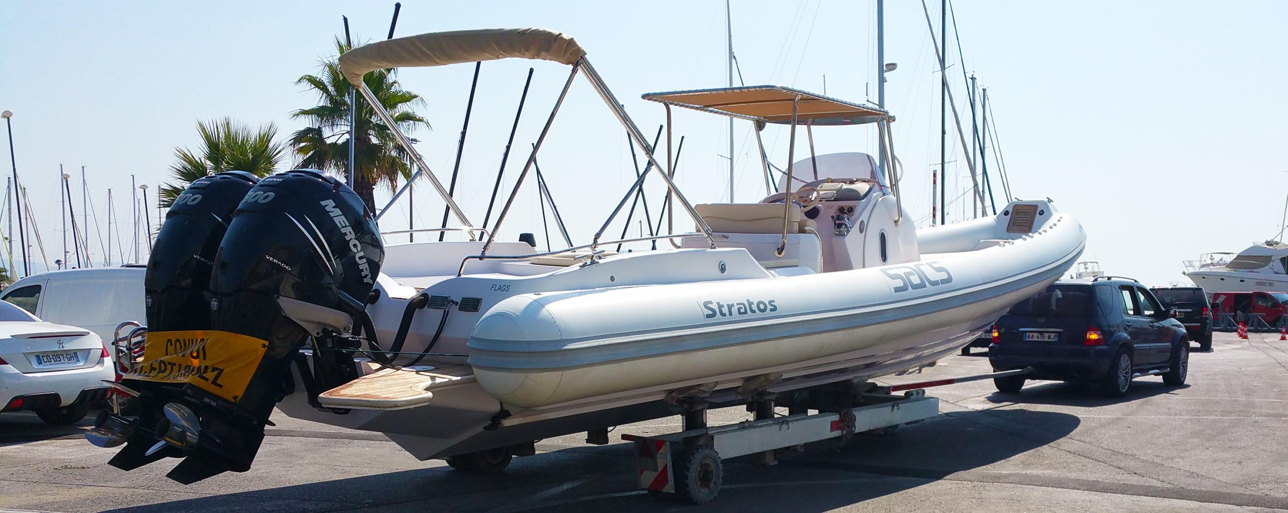 Transport de bateau région PACA