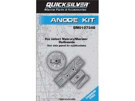 Kit anodes mercury