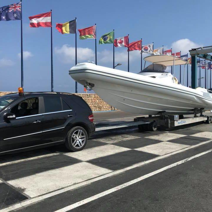 Transport bateau PACA