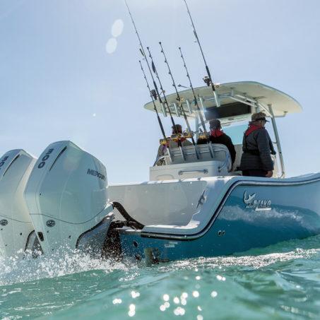 Vente de bateau pour peche en mer