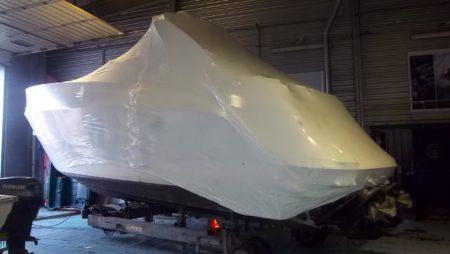 Un bateau bien préparé pour l'hiver est un bateau protégé.