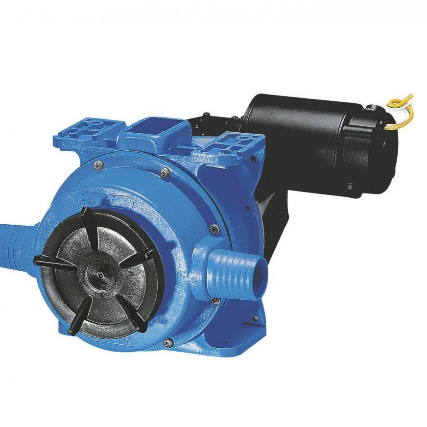 Pompe électrique pour cale, vivier et eaux usées