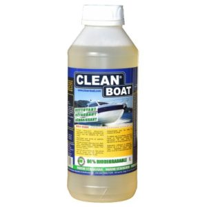 Produit nettoyant pour bateau