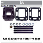 Kit rehausse de coude 76 mm