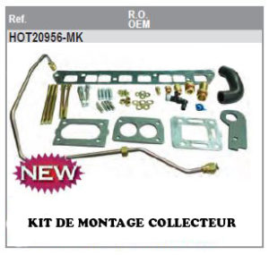 Kit de montage Collecteur GM153 L4 120cv et 140 cv