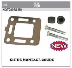 Kit montage coude Mercruiser GM153 L4 120cv et 140 cv