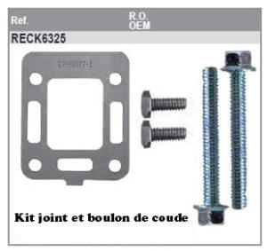 Kit de joint et boulon de coude Collecteur GM153 L4