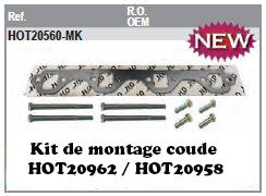 Kit de montage coude d'échappement HOT20962 / HOT20958