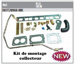 Kit de montage Collecteur GM153 L4 120cv et 140 cv