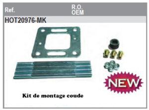 Kit montage coude Mercruiser