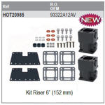 "Kit riser 6"" (152mm)"