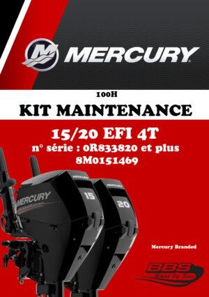 KIT ENTRETIEN MERCURY 100H 15/20cv EFI