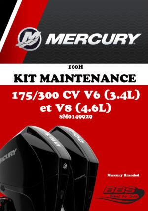 KIT ENTRETIEN MERCURY 100H V6-V8