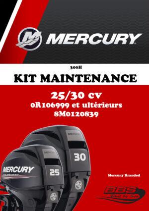 KIT ENTRETIEN MERCURY 300H 25/30cv