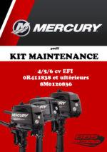 KIT ENTRETIEN MERCURY 300H 4/5/6cv EFI