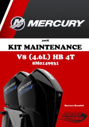 KIT ENTRETIEN MERCURY 300H V8