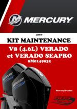 KIT ENTRETIEN MERCURY 300H V8 VERADO