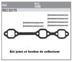 Kit joint et boulon de collecteur