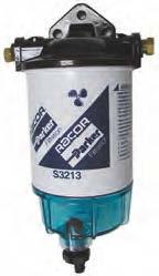 Filtre gasoil complet 340l/h