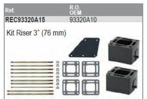 """Kit riser 3"""" (76mm)"""